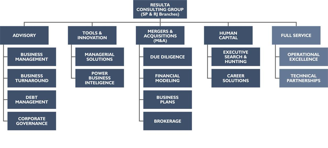 Resulta Corporate Consulting - Organization Chart