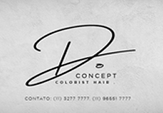D Concept - Colorist Hair is served by Resulta Corporate Consulting. Visit the institutional website.